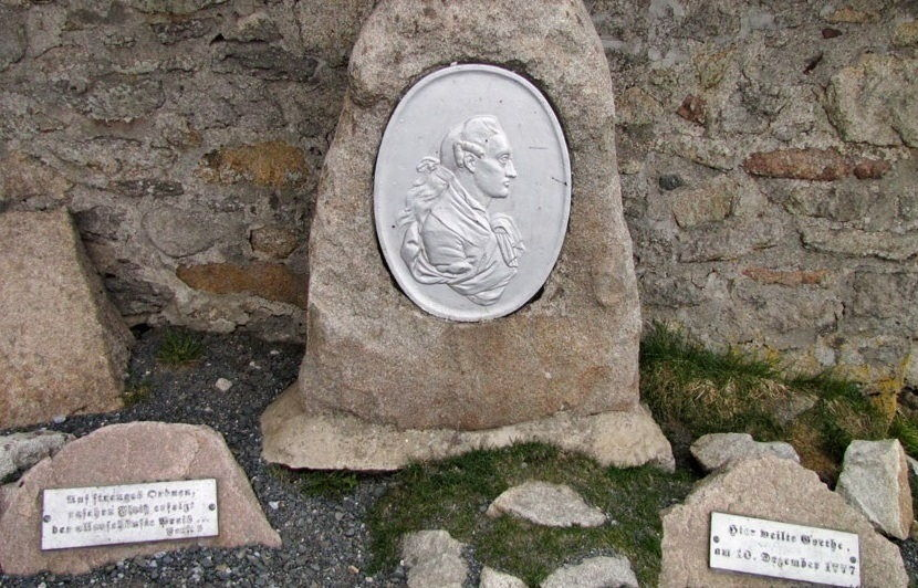 Goethe Gedenktafel Brocken