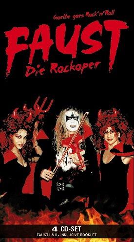 FAUST - Die Rockoper 4-er CD-Box