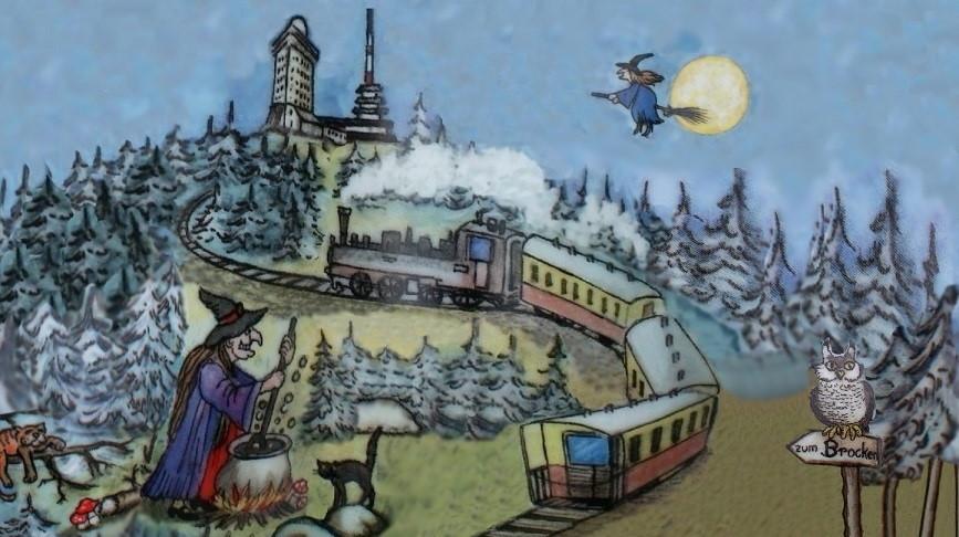 HSB Harzer Schmalspurbahnen Brocken