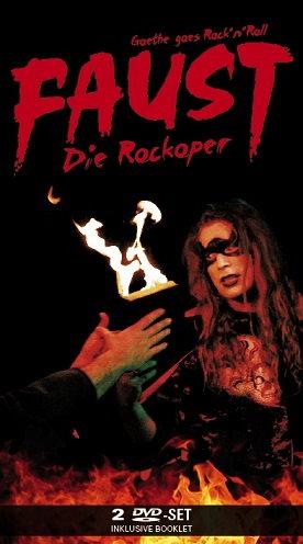 DVD FAUST - Die Rockoper